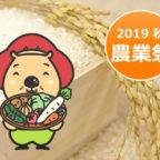 【11/16-17】第45回 池田市農業祭