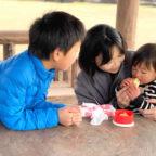 小さい子でも安心!! 遊び放題、転がり放題、入場無料の穴場スポット「池田城跡公園」の魅力を伝えたい!!