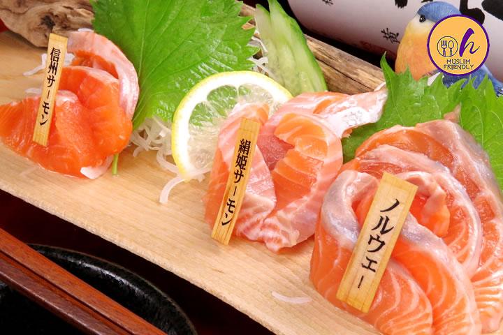 Assorted  3-type Salmon Tasting Plate