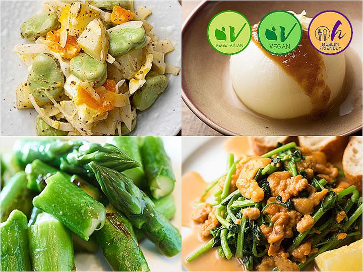 Seasonal Vegetable Dishes