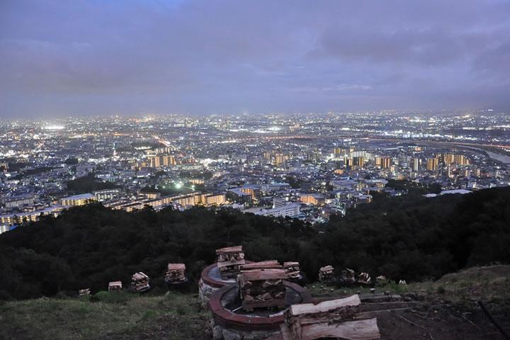 五月山からの夜景